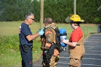 Training with Granite Falls Fire Dept.