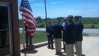 Flag Dedication Ceremony - May 24, 2014